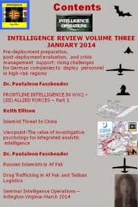 Contents Intelligence Review No. 3 (2014)